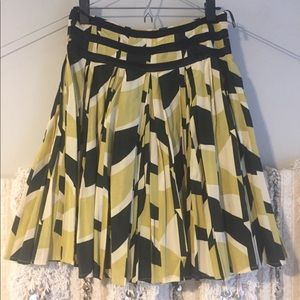 French Connection silk and cotton skirt